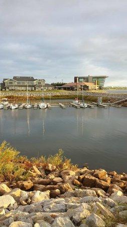Hefner Lake & Park: Small boat marina where locals keep their watercraft