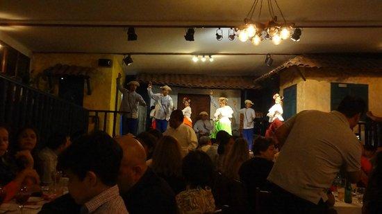 danças típicas, Tinajas