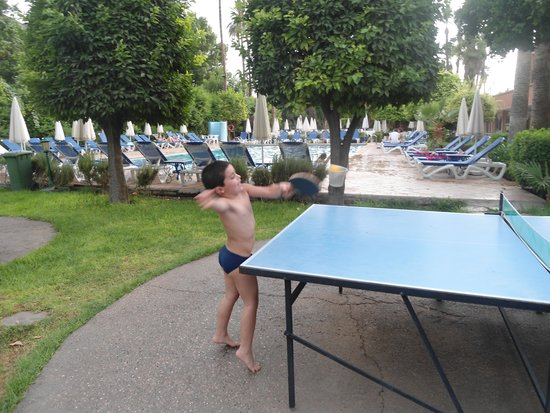 Hotel Chems: ping pong