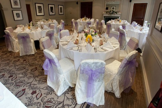 Gorse Hill : Wedding tables