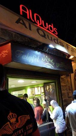 Al-Quds : Best falafel in town