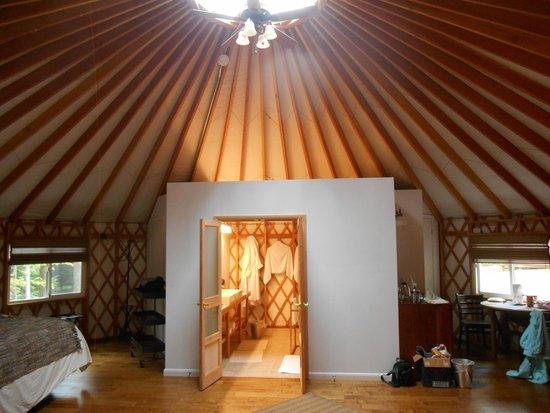 Savage River Lodge: the bathroom