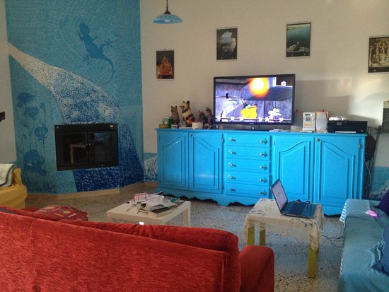 B&B Persichella: Sala tv