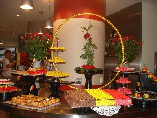 Royal Decameron Tafoukt Beach Hotel: buffet dessert