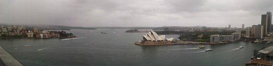 Pylon Lookout at Sydney Harbour Bridge : Panorama of The Harbour