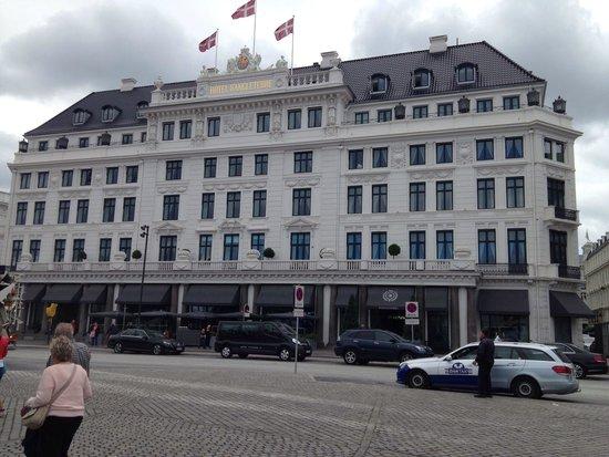 Hotel D'Angleterre: Ansicht