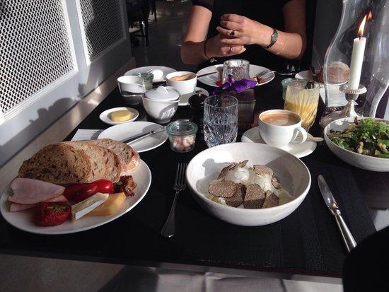 Hotel D'Angleterre: Sehr leckeres Frühstück!