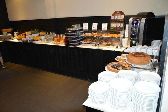 """The Style Florence: colazione reparto """"dolci"""" hotel ambasciatori"""