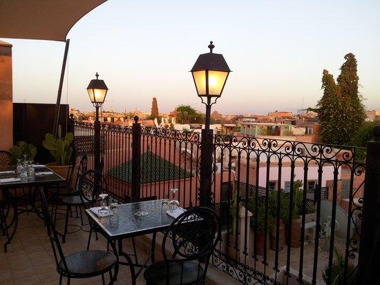 Bazaar Cafe: La terrazza