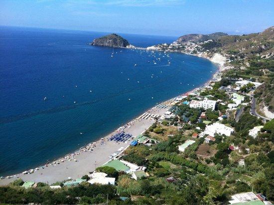 Hotel Parco Smeraldo Terme: Che panorama....