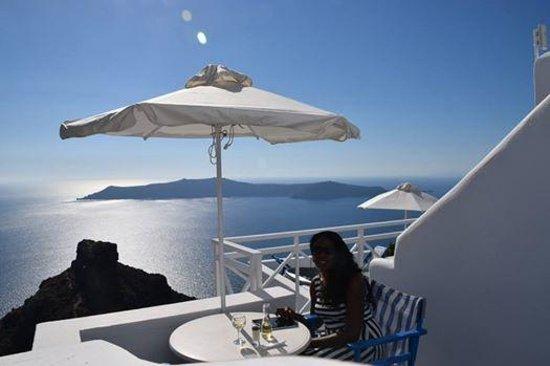 Artemis Villas : view from balcony