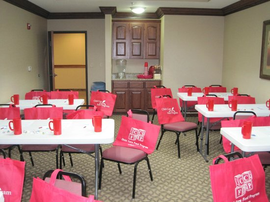 Comfort Suites Columbia : Our meeting room in classroom style