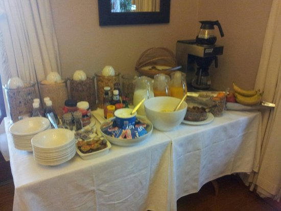 88 Baron van Reede Guesthouse: colazione