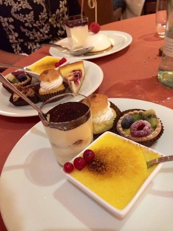 Lac Salin Spa & Mountain Resort: Dolci a buffet