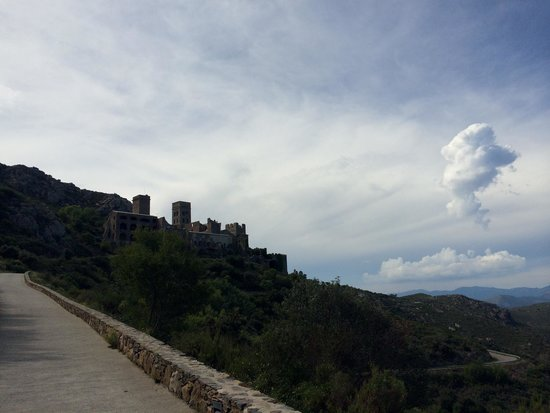 Monastery of Sant Pere de Rodes: Monasterio de San Pere
