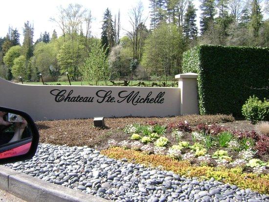 Chateau Ste. Michelle Vineyards: Entrance
