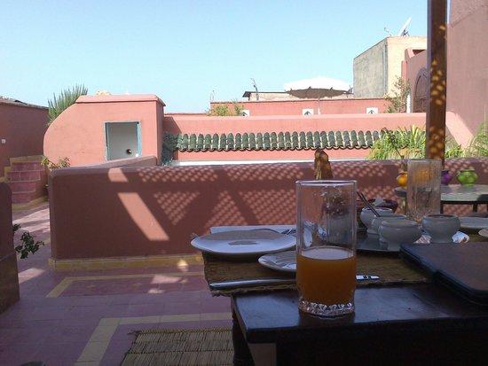 Dar la Cle de la Medina : Terraza