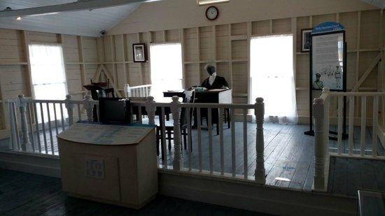 Cayman Islands National Museum: reproducción de los juzgados