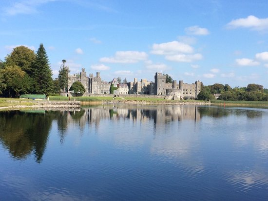 The Lodge at Ashford Castle: View from the cruise