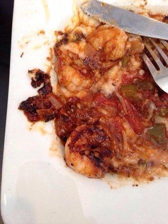 King Neptune: Burnt shrimp and grits
