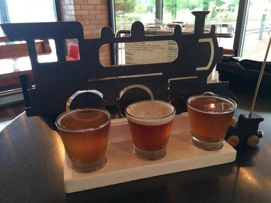 The Filling Station : Beer flight