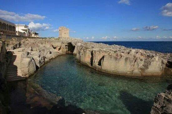 Le piscine foto di piscina naturale di marina serra - Piscina naturale puglia ...