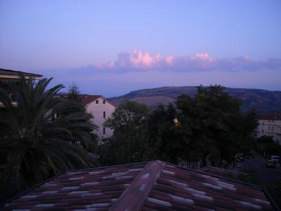 B&B Amarcord : Panorama dal terrazzo della camera