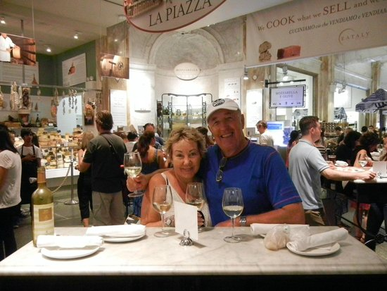 Two Foodies in Eataly