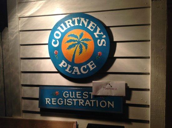 Courtney's Place: Como llegamos tarde nos organizaron una pequeña gymkana para enocntrar las llaves