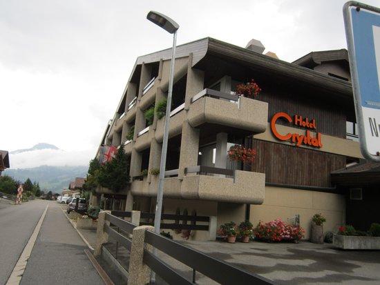Hotel Crystal: Hotel aussen