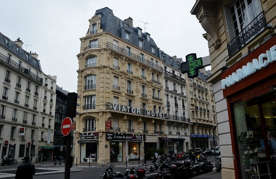 Hotel Viator - Paris Gare de Lyon : Fachada del hotel