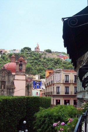 Luna Hotel: Vista del balcon