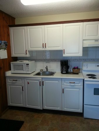 The Cedarwood Inn and Suites: Well equipped kitchen