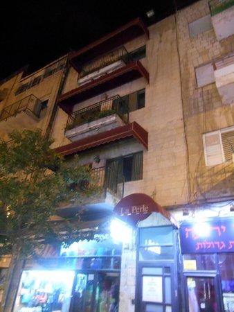 La Perle Hotel : facciata