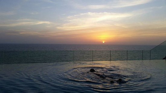 OZO Colombo: At Roof Top- Sun Set