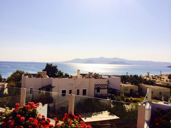 Naxos Island Hotel: View from the rooftop bar and pool