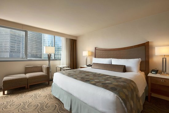 Wyndham Grand Chicago Riverfront: King Riverview Guest Room