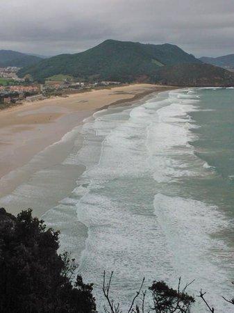 Hotel La Traina: playa berria
