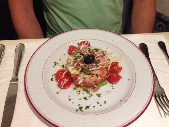 Restaurante Traca: Smoked fish salad