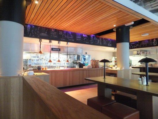 Pastafabrikken: inside restaurant