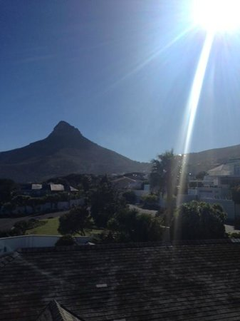 3 On Camps Bay Boutique Hotel : Room with a view