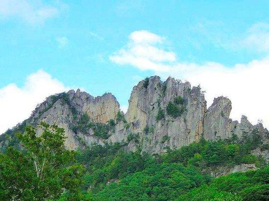 Seneca Rocks State Park: the rocks