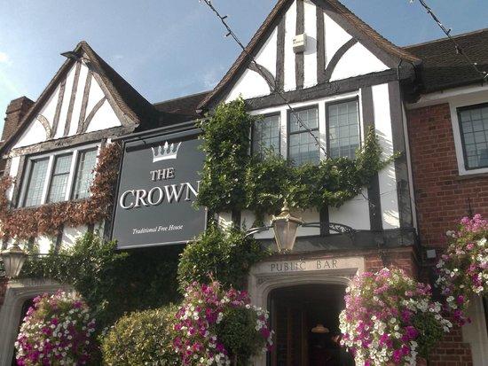 Crown Egham: Outside of The Crown Pub