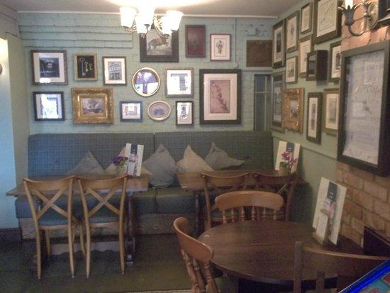 Interior of The Crown Pub
