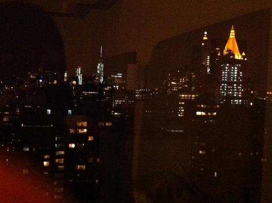 Dumont NYC–an Affinia hotel: the view from my room!
