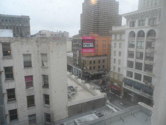vista lateral de la calle powell picture of hotel. Black Bedroom Furniture Sets. Home Design Ideas