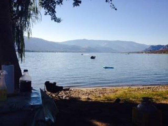 Nk'Mip Campground & RV Resort: Lakeside site, was very nice