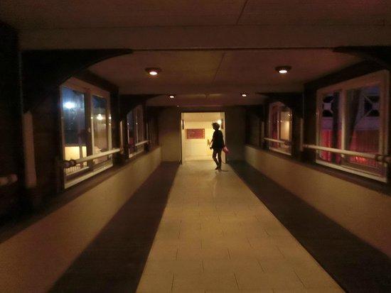 Le Surf Hôtel : 渡り廊下