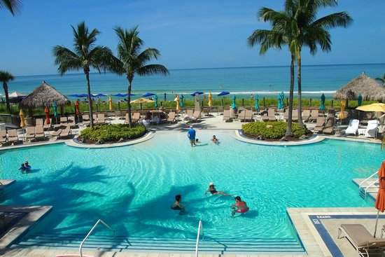 The Ritz Carlton Sarasota Beach Club Area