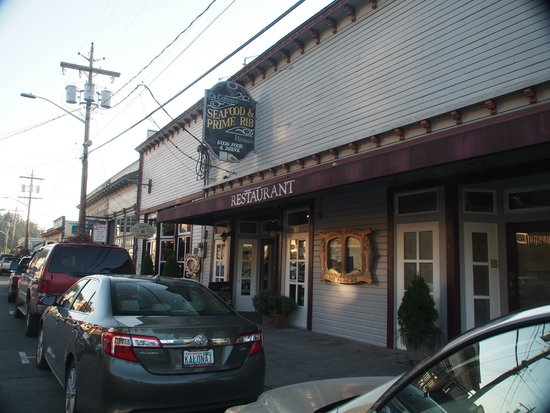 La Conner Seafood & Prime Rib: Front of the Restaurant